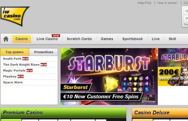 no withdrawal limits IW casino